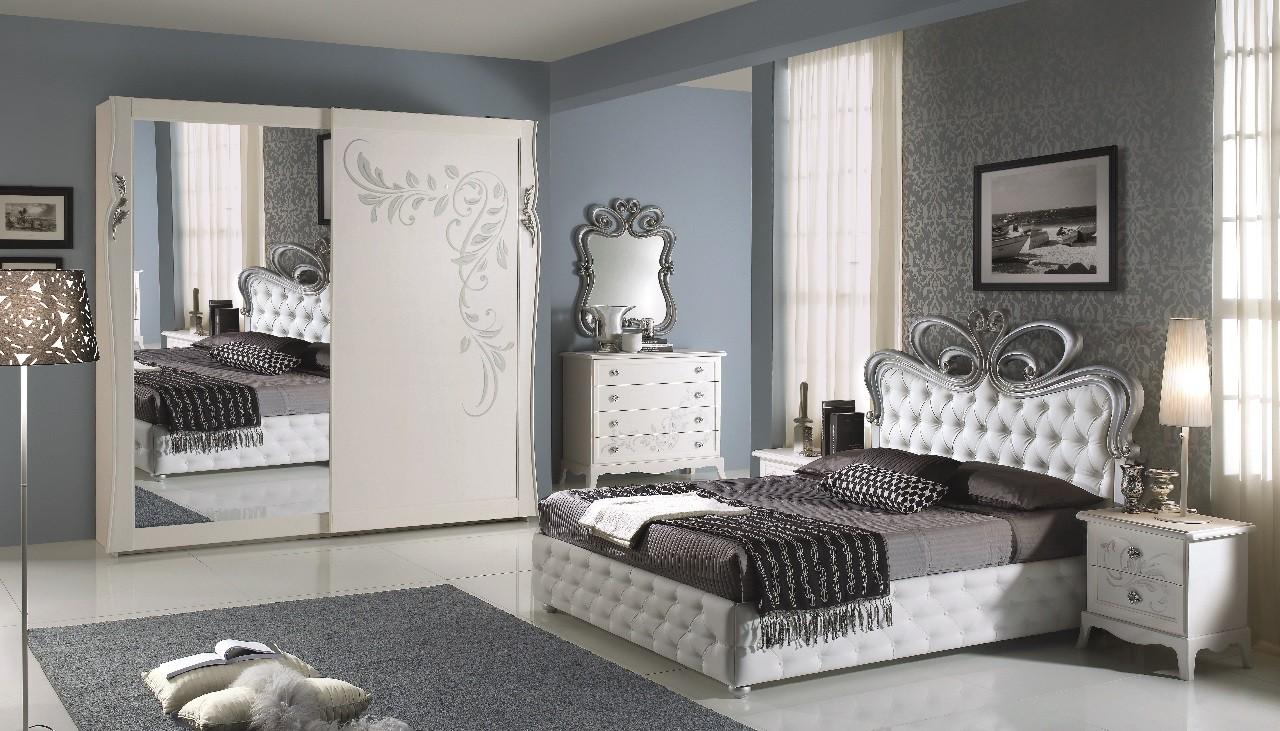 Camera da letto completa Mondello bianca