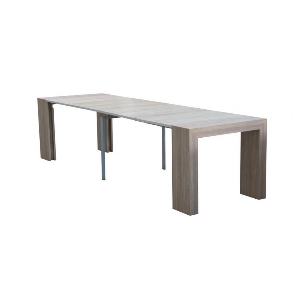 Consolle tavolo allungabile Audace larice grigio