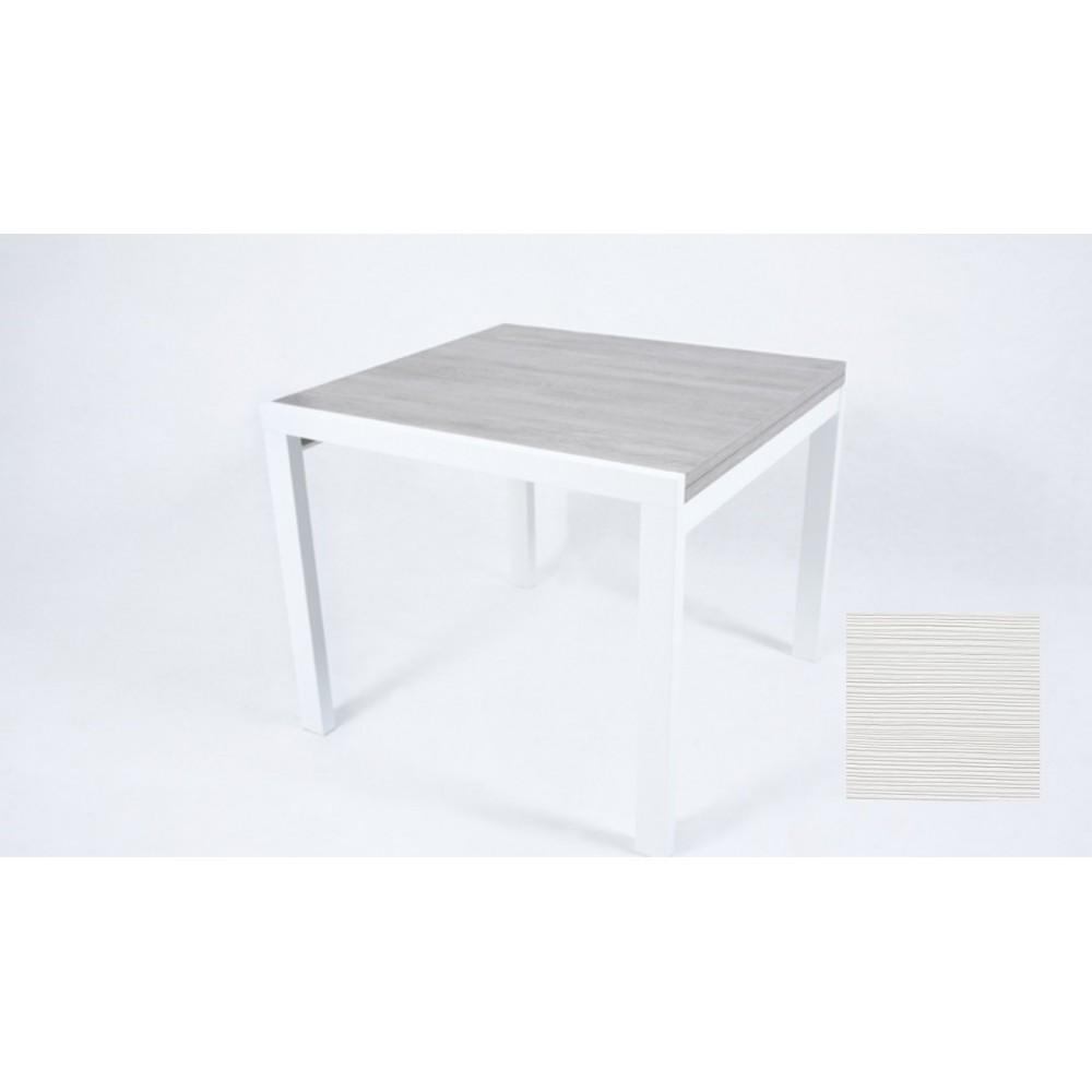 Tavolo raddoppiabile Korallo 100 larice bianco