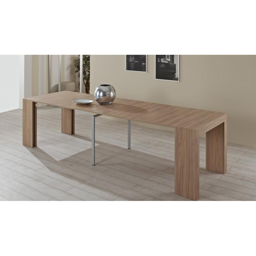 Consolle tavolo allungabile Audace olmo
