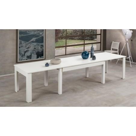 Tavolo bianco larice estensibile Lipsia Lux