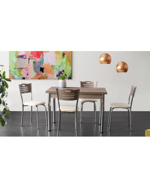 Tavolo allungabile olmo 110 x 70 cm. Karya