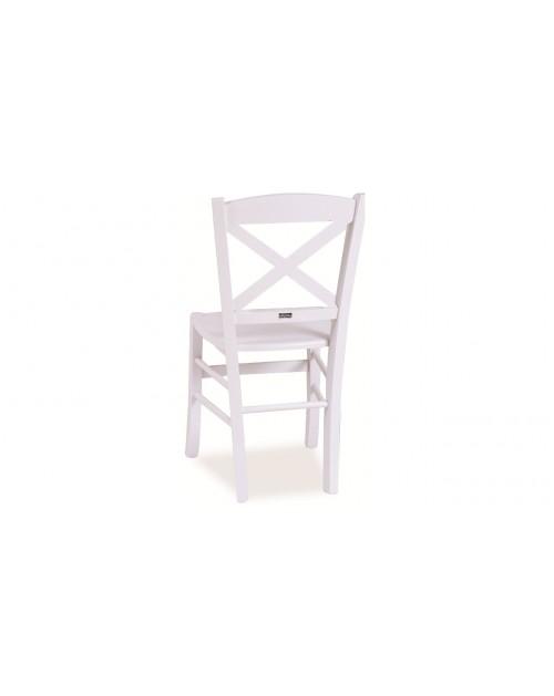 Sedia in legno di faggio e seduta in legno. Borgogna