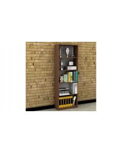 Libreria noce 5 scomparti 58 x170x23 cm