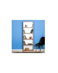 Libreria sonoma 5 scomparti 58 x170x23 cm