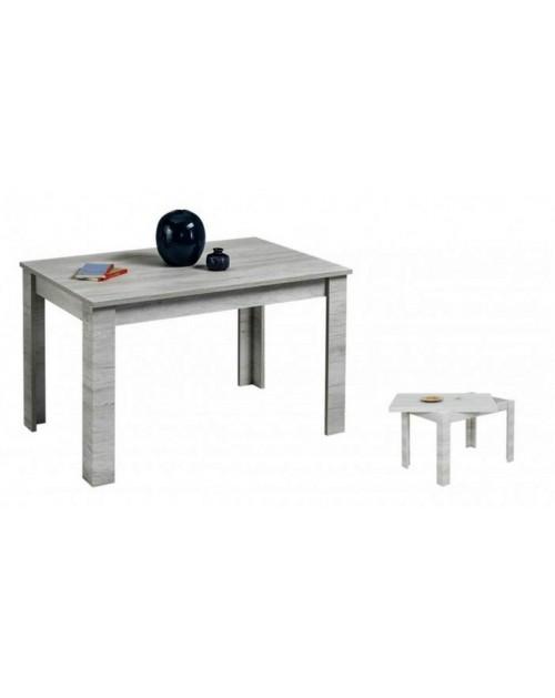 Tavolo raddoppiabile 120x80 cm. Maribor beton
