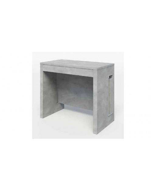 Consolle cemento allungabile 90x47x76 cm. Zoom 3