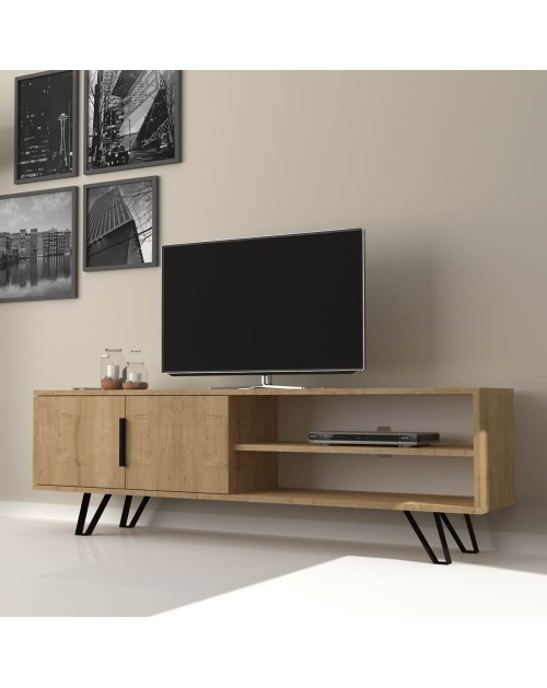 Mobile porta Tv rovere 160 cm. Foot