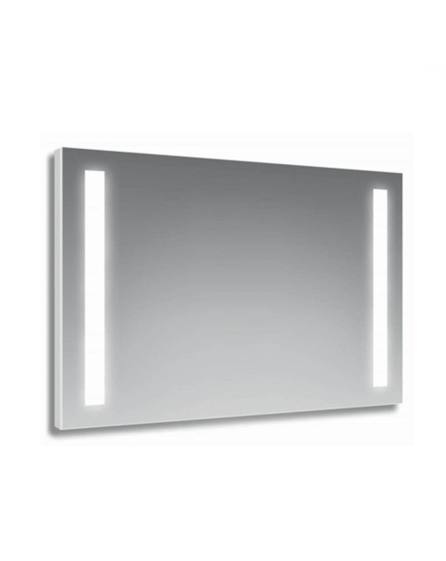 Specchio 100x70 cm. con fasce LED Halifax