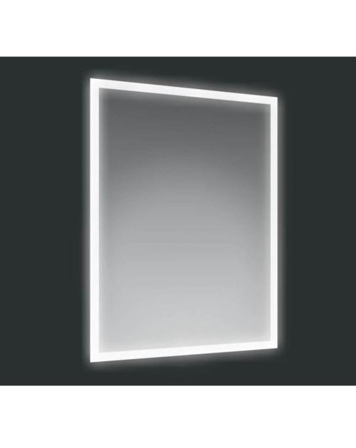 Specchio 60x80 cm. con cornice LED Banff