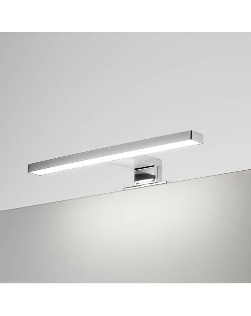 Lampada LED per bagno Kyra 300 mm cromata